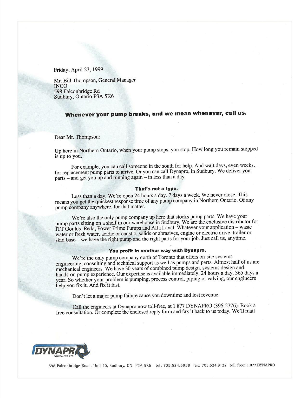 Web Copywriter Cover Letter - Trade support cover letter